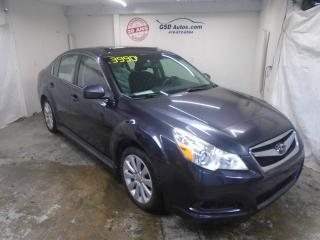Used 2011 Subaru Legacy 2.5 I Convenience for sale in Ancienne Lorette, QC