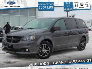 Used 2018 Dodge Grand Caravan Gt 7 Places Cuir for sale in Victoriaville, QC