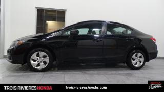 Used 2014 Honda Civic LX for sale in Trois-Rivières, QC