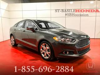 Used 2016 Ford Fusion SE + AWD + TECK PACK + TOIT + IMPECCABLE for sale in St-Basile-le-Grand, QC