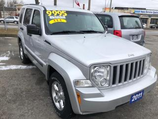 Used 2011 Jeep Liberty Sport, 4X4 for sale in St Catharines, ON