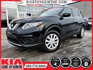 Used 2015 Nissan Rogue S AWD ** CAMÉRA DE RECUL + A/C for sale in St-Hyacinthe, QC