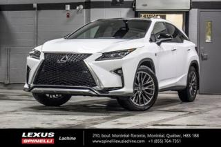 Used 2017 Lexus RX 350 F Sport Iii Awd for sale in Lachine, QC