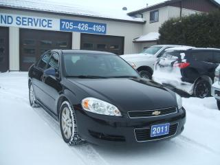 Used 2011 Chevrolet Impala LT for sale in Beaverton, ON