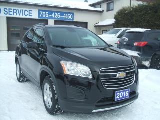 Used 2016 Chevrolet Trax LT, AWD for sale in Beaverton, ON