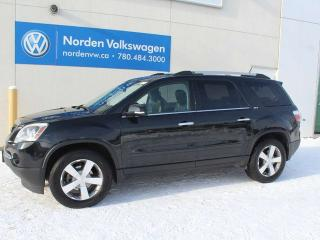 Used 2012 GMC Acadia SLT AWD - LEATHER / HEATED SEATS / AFTERMARKET DVD'S! for sale in Edmonton, AB