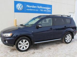 Used 2013 Mitsubishi Outlander XLS AWD - LEATHER / SUNROOF / NAVI for sale in Edmonton, AB