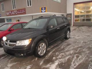 Used 2010 Dodge Journey RT AWD  7 PASS for sale in Waterloo, ON