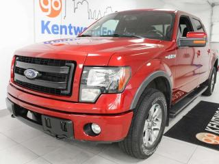 Used 2013 Ford F-150 FX4 off road, power drivers seat, back up cam, keyless entry for sale in Edmonton, AB