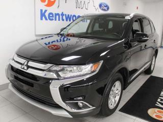 Used 2016 Mitsubishi Outlander SE 4WD V6 AWC, heated seats, push start/stop for sale in Edmonton, AB