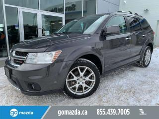 Used 2016 Dodge Journey RT AWD 7 PASS LEATHER SUNROOF for sale in Edmonton, AB