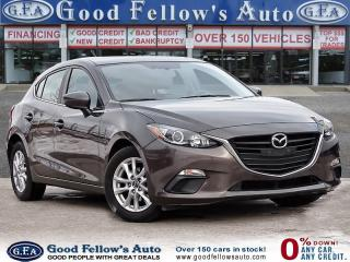 Used 2015 Mazda MAZDA3 SPORT GS, SKYACTIVE, REARVIEW CAMERA, HEATED SEATS for sale in Toronto, ON