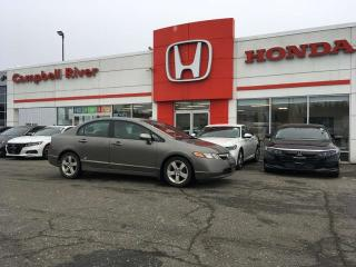Used 2007 Honda Civic Sdn LX $0 Down $92 Bi Weekly OAC! for sale in Campbell River, BC