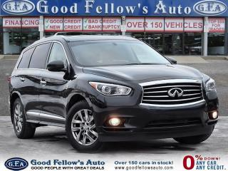 Used 2015 Infiniti QX60 AWD, 7PASS, LEATHER SEAT, SUNROOF, REARVIEW CAMERA for sale in Toronto, ON