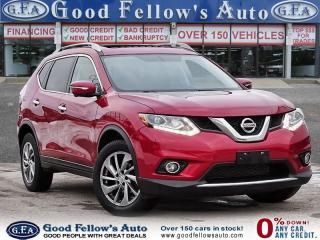 Used 2015 Nissan Rogue SL MODEL,  PREMIUM Pkg, AWD, LEATHER SEAT, PANROOF for sale in Toronto, ON