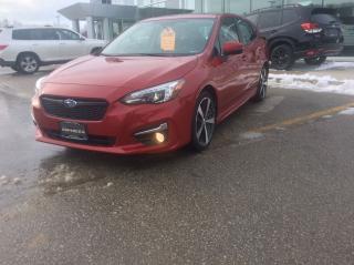 Used 2017 Subaru Impreza Sport-tech w/Tech Pkg for sale in Owen Sound, ON