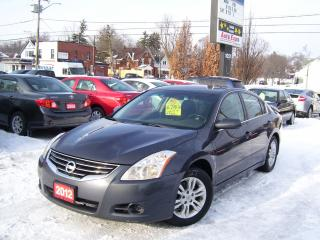 Used 2012 Nissan Altima 2.5 S,AUX,BLUETOOTH,SUNROOF,ALLOYS,CERTIFIED for sale in Kitchener, ON