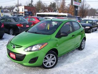 Used 2012 Mazda MAZDA2 GX,AUTO,A/C,ONE OWNER,NO ACCIDENT,CERTIFIED for sale in Kitchener, ON
