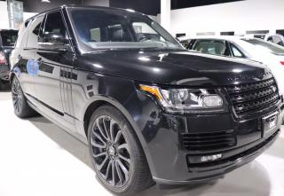 Used 2017 Land Rover Range Rover SC Supercharged Blacked Out for sale in Concord, ON