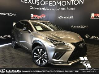 Used 2019 Lexus NX 300 F Sport Series 3 for sale in Edmonton, AB