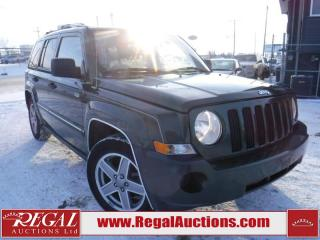 Used 2008 Jeep Patriot 4D Utility FWD for sale in Calgary, AB