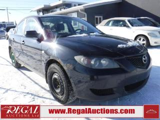Used 2004 Mazda MAZDA3 4D Sedan for sale in Calgary, AB