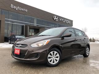 Used 2015 Hyundai Accent 5Dr GL at for sale in Barrie, ON