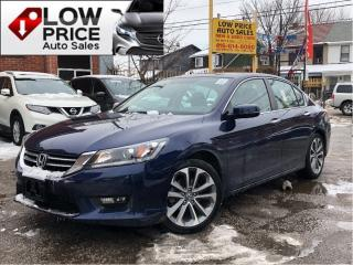 Used 2015 Honda Accord Sport*Sunroof*AllPowerOpti*HtdSeats*Camera* for sale in Toronto, ON