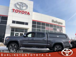 Used 2016 Toyota Tacoma Limited LOADED for sale in Burlington, ON