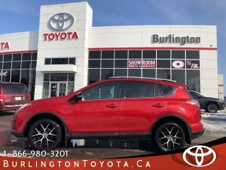 Used 2016 Toyota RAV4 SE NAVIGATION LOADED for sale in Burlington, ON