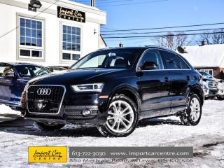 Used 2015 Audi Q3 Technik NAV PKG BLIS BOSE XENONS WOW!! for sale in Ottawa, ON