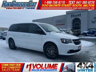 Used 2014 Dodge Grand Caravan SXT PLUS | BLACKTOP | STOW N GO | 17INCH & MORE!! for sale in Milton, ON