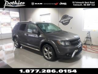 Used 2018 Dodge Journey Crossroad |AWD | LEATHER | SUNROOF | NAV | DVD | for sale in Falmouth, NS