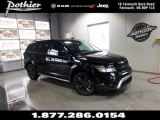 Used 2018 Dodge Journey Crossroad AWD | LEATHER | SUNROOF | 8.4 TOUCHSCREE for sale in Falmouth, NS