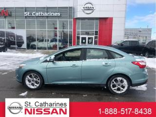 Used 2012 Ford Focus SEL LEATHER & SUNROOF !! for sale in St. Catharines, ON