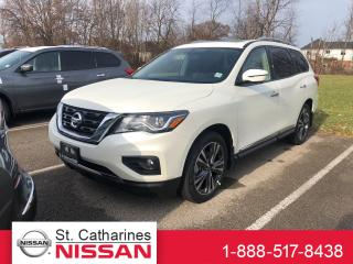 Used 2019 Nissan Pathfinder Platinum V6 4x4 at for sale in St. Catharines, ON