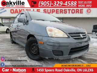 Used 2007 Suzuki Aerio WHOLESALE PRICE | YOU CERTIFY YOU SAVE | for sale in Oakville, ON