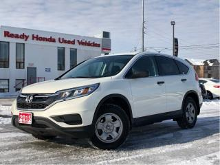 Used 2015 Honda CR-V LX  |  Rear Camera | Heated Seats for sale in Mississauga, ON