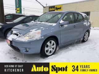 Used 2008 Toyota Matrix XR/MOONROOF/LOADED/LOW,LOW KMS! for sale in Kitchener, ON