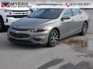 Used 2018 Chevrolet Malibu LT  - Bluetooth -  SiriusXM for sale in Kanata, ON