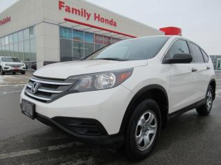 Used 2014 Honda CR-V LX, 4 NEW TIRES!!! for sale in Brampton, ON