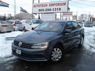 Used 2015 Volkswagen Jetta Trendline   Camera/Btooth All Pwr&GPS* for sale in Mississauga, ON