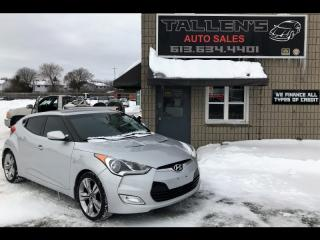 Used 2012 Hyundai Veloster Coupe for sale in Kingston, ON