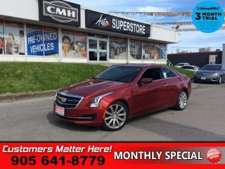 Used 2015 Cadillac ATS 2.0 Turbo  AWD CUE BOSE LEATH ROOF CAM REMOTE for sale in St. Catharines, ON