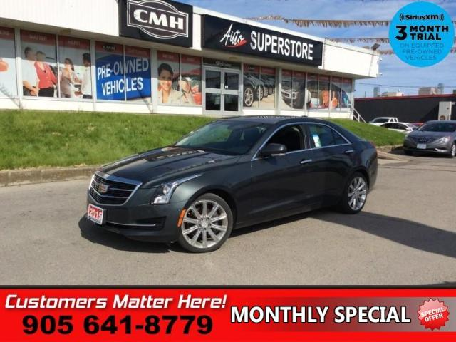 2015 Cadillac ATS 2.0 Turbo Luxury  NAV CUE ROOF CAM HTD-S/W HS HOME-REMOTES