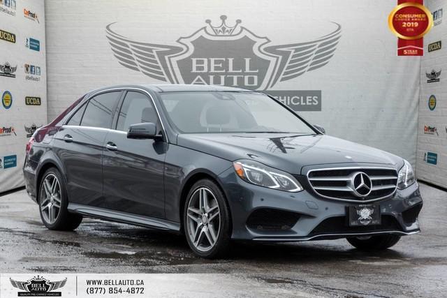 2015 Mercedes-Benz E-Class E 400, NO ACCIDENT, AWD, NAVI, 360 CAM, SENSORS