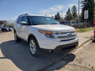 Used 2012 Ford Explorer LIMITED-4X4-7 PASSENGER-LOW Monthly PAYMENTS!! for sale in Edmonton, AB
