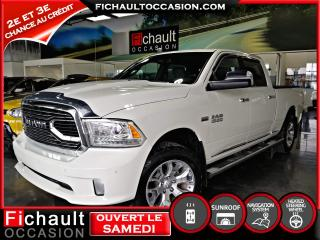 Used 2016 RAM 1500 LONGHORN LIMITED*** CUIR*** NAVIGATION** for sale in Châteauguay, QC