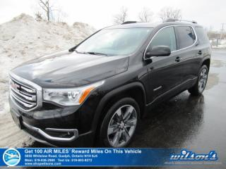 Used 2017 GMC Acadia SLT AWD - 6 Passenger, Leather, Navigation, Sunroof, Remote Start, Power Liftgate, Bose Speakers for sale in Guelph, ON