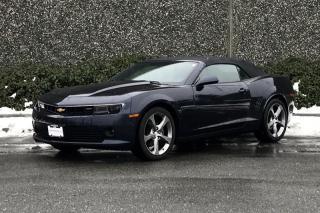 Used 2014 Chevrolet Camaro 1LT Convertible for sale in Vancouver, BC